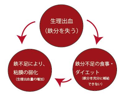 鉄不足の図1